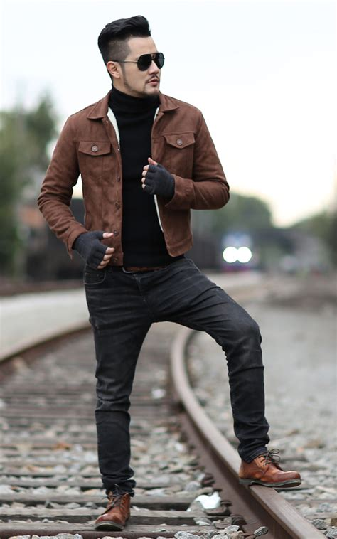 chao r winter men fashion in leatherette jacket men g
