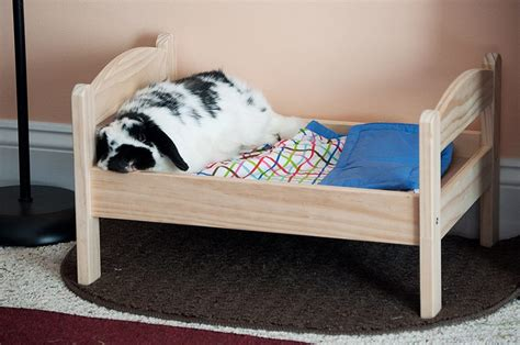 Dog Bedding Set Ikea Duktig Pine Bed With Bedlinen Bunny Approved