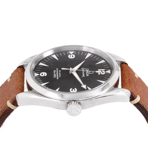 Ac 2503 Black omega railmaster automatic 2503 52 00 pre owned stunning timepieces touch of modern