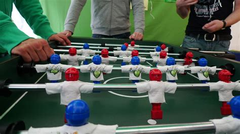 How To Make A Table Football by File Table Football Jpg Wikimedia Commons