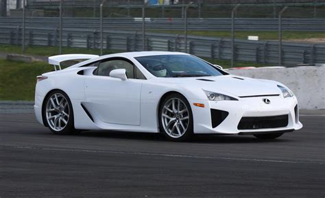 lexus lfa car and driver