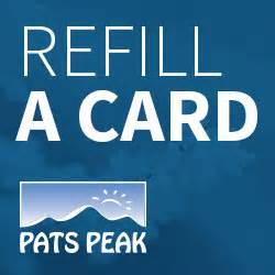 pats peak pats peak ski area in henniker nh is southern new hshire s premiere - Refillable Gift Card