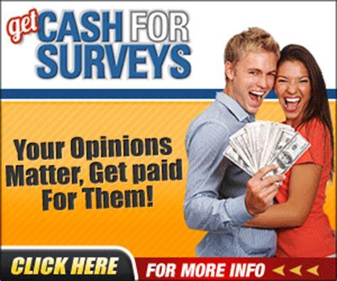 How To Get Money For Surveys - how to get cash for surveys