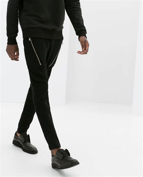 zara baggy trousers with zips 1000 images about fabulous fashions on t shirts trousers and zara