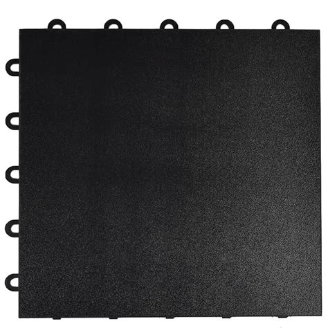 greatmats max tile 1 ft x 1 ft x 5 8 in black snap
