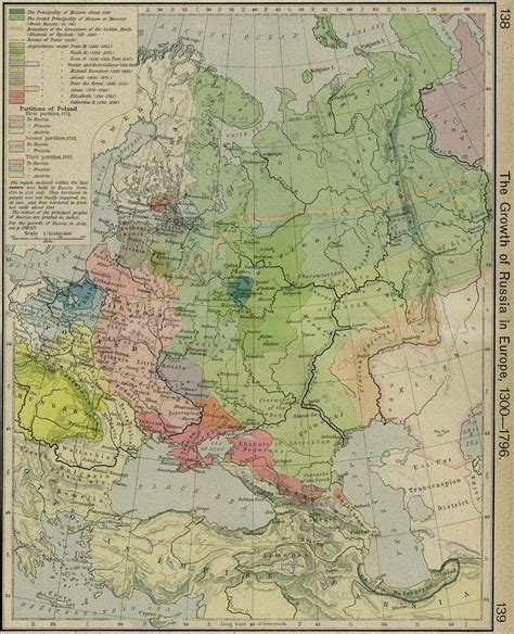 russia and eastern europe map 1300 whkmla historical atlas russian empire ussr europe