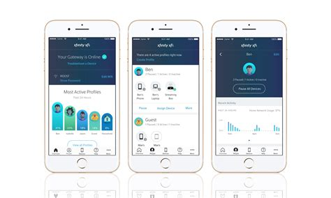 mobile wifi apps comcast s xfi app makes setting up your parents wifi less