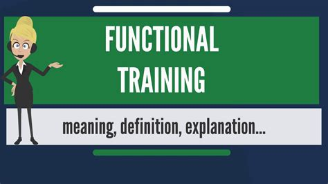 tutorial video meaning what is functional training what does functional training