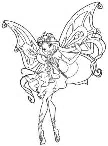winx club coloring pages enchantix az coloring pages