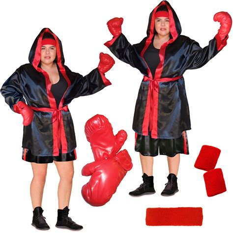 Spice New Costumes Em Or Em by Sale Punch Em Out Or Standard Boxer Costume Plus