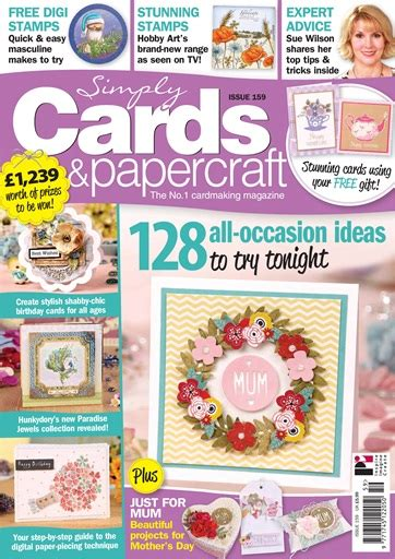 Simply Cards And Papercrafts - simply cards papercraft magazine issue 159