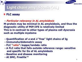 light chain amyloidosis biochemical and genetic evaluation in amyloidosis ppt