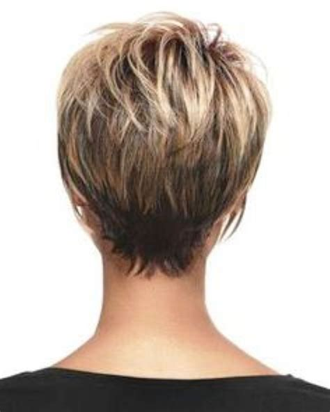 bob vs wedge short hairstyles back view