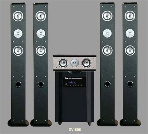 divinci 606 home theater surround sound audio speakers