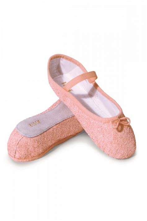 sparkly ballet slippers glitter ballet shoes from bloch dancewear central