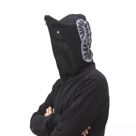 Bape Shark Fullzip Hoodie black zip bape shark hoodie dopestudent