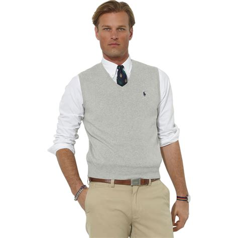 Sweater Seee Ready L polo ralph cotton sweater vest sweaters apparel