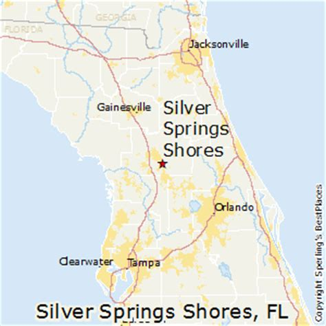 map of silver springs florida best places to live in silver springs shores florida