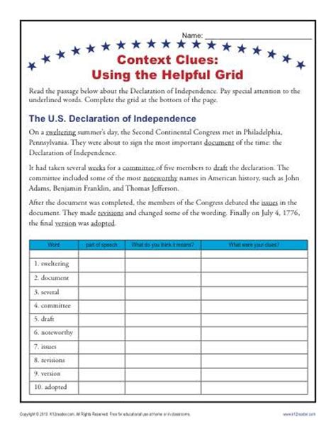 Synonyms And Antonyms Context Clues Worksheets by All Worksheets 187 Synonyms And Antonyms Context Clues
