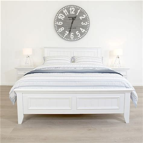 mandalay white queen bed sleeping giant beds