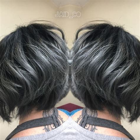 short haircuts brunettes with gray highlights 10 pretty pastel hair color ideas with blonde silver