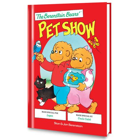 show me pictures of books berenstain bears pet show put me in the story