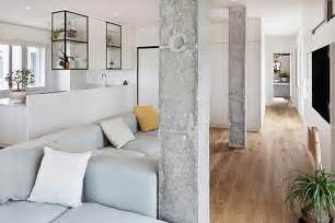 35 modern interior design ideas incorporating columns into spacious room design columns