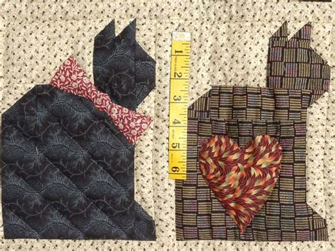 Blue Cats Patchwork - patchwork cats quilt wonderful skillfully made amish
