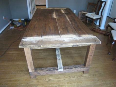 dining room table hardware how to make a diy farmhouse dining room table restoration