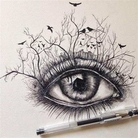 Imagenes Surrealistas Tumblr | resultado de imagen para dibujos de solo paisajes bosques