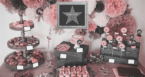 quinceanera movie themes a hollywood theme quinceanera for a divalicious girl