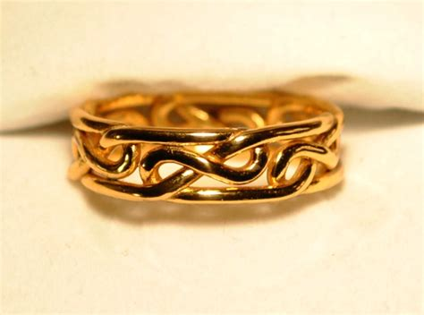 how to do an infinity knot celtic eternity knot ring or celtic infinity knot ring