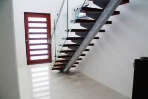 Painted Handrail Staircase Steel Staircase Design Stairworx