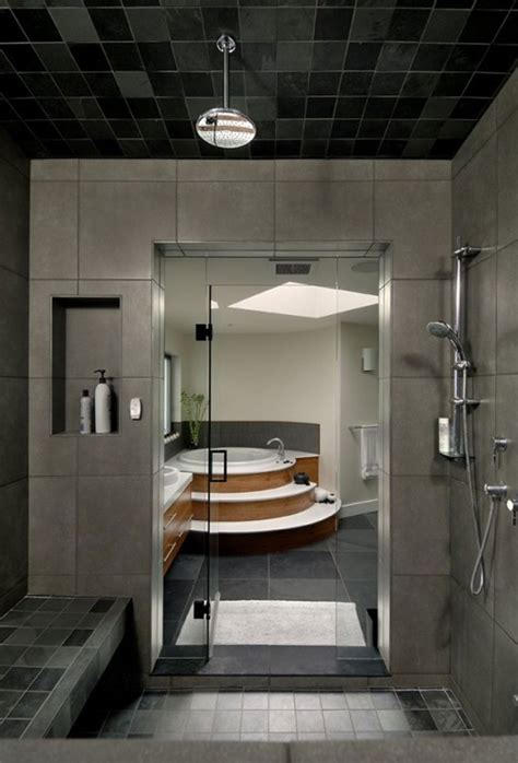 Modern Bathroom Shower 30 Great Craftsman Style Bathroom Floor Tile Ideas And Pictures
