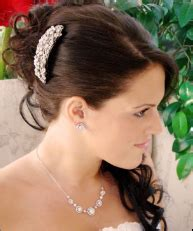 Vintage Bridal Hair Barrette by Bridal Wedding Hair Accessories Wedding Hair Flowers