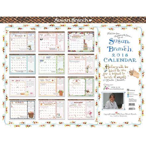 2018 desk pad calendar susan branch desk pad 2018 tf publishing calendars com