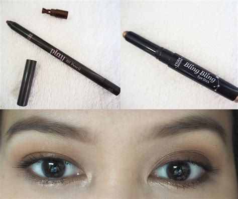 Makeup Di Etude House my fall eye make up look using etude house products