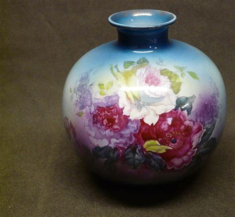 How To Read Vases by Large Royal Bonn Franz Anton Mehlem Floral Vase From