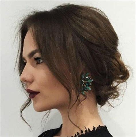 how to do a messy updo with medium legnh thin hair 1000 ideas about messy medium hair on pinterest hair