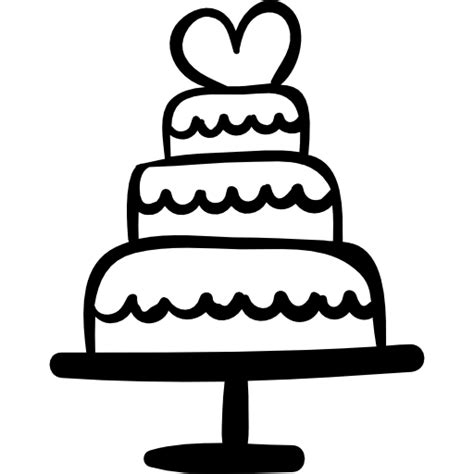 Hochzeitstorte Icon by Wedding Cake With Free Signs Icons
