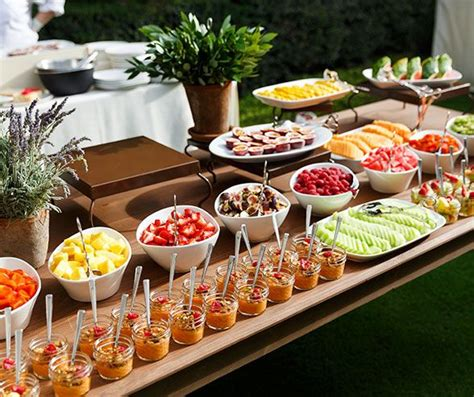 brunch garden outdoor wedding reception ideas colin cowie weddings wedding food garden