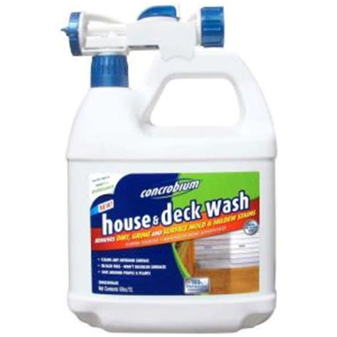 concrobium 68 oz house and deck wash 126 056 the home depot