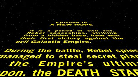 Star Wars Opening Crawl Text Pictures To Pin On Pinterest Wars Crawl Powerpoint
