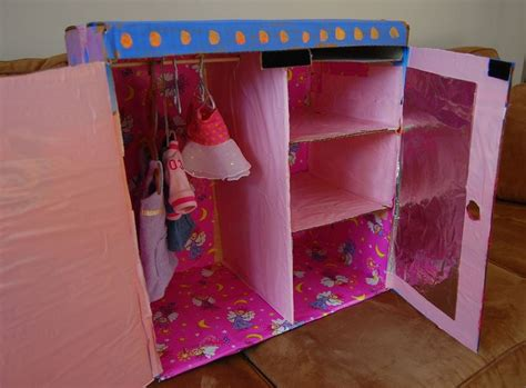 Doll Clothes Wardrobe by Wardrobe Closet Diy Doll Wardrobe Closet