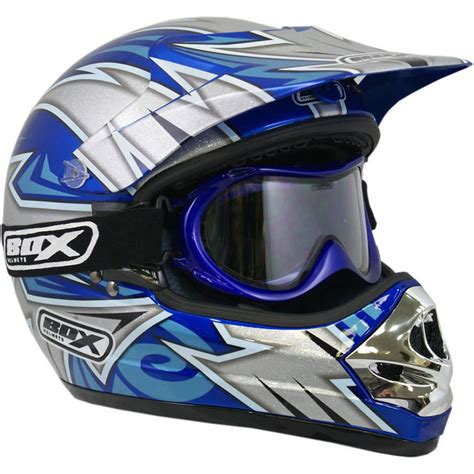 motocross helmets and goggles box mx 3 blade helmet goggles motocross helmets