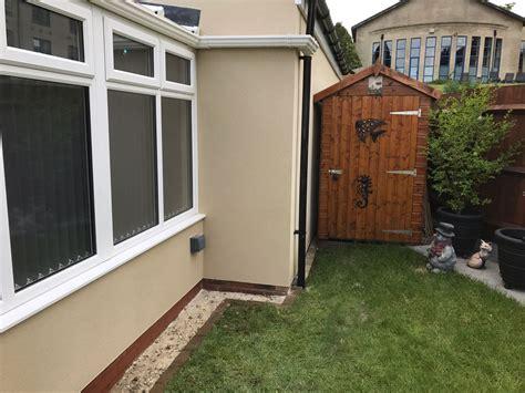 garden wall render garden wall render jb plastering drylining