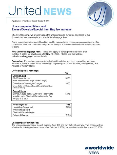 united baggage allowance domestic 100 united domestic baggage fees 100 united
