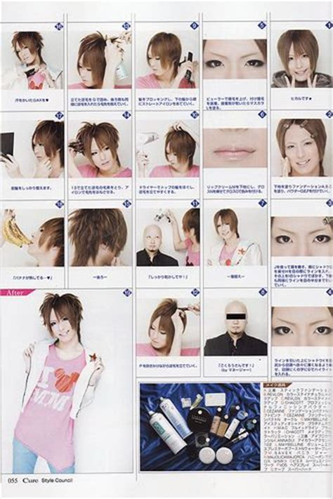 tutorial makeup visual kei visual kei makeup on pinterest visual kei lolita makeup