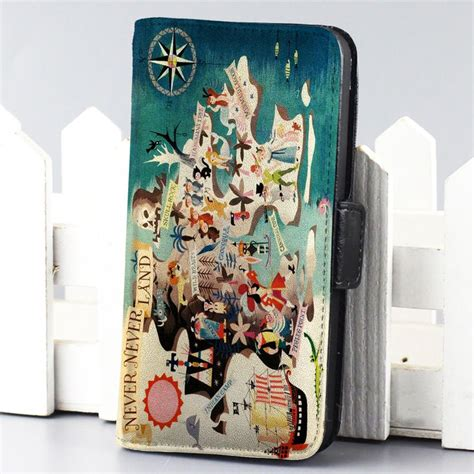 Disney Pan Quotes Iphone 5 5s Se 6 Plus 4s Samsung Htc pan never never land disney wallet for iphone 4 4s 5 5s 5c 6 and samsung galaxy s3 s4