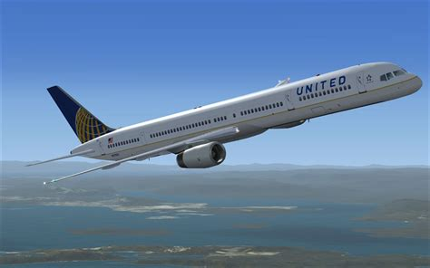 X United united airlines boeing 757 300 for fsx